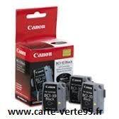 cartouche originale canon BCI-10BK 0956A002 : boite de 3 cartouches Jet d'encre noire 3x170 pages BCI10BK