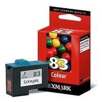 LEXMARK N°83 : cartouche encre couleur 450 pages 18LX042E