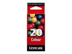 Lexmark 15MO620 : cartouche encre couleur 450 pages LEXMARK N°20