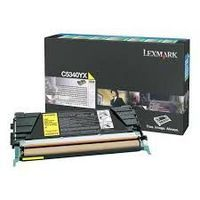 Lexmark C5340YX : toner jaune grande capacité 7000 pages