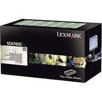 LEXMARK 12A7405 : Toner noir 6000 pages
