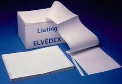 """ELVE papier listing, 240 x 27,94 cm (11""""), A4"""