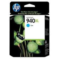 cartouche HP C4907AE : cartouche origiinale encre cyan grande capacité 1400 pagesN°940XL