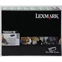 LEXMARK T650A11E : toner noir Lexmark 7000 pages