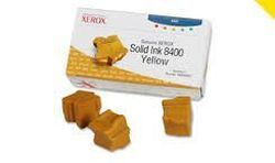 Xerox 108R00607 : boite de 3 solid ink jaune 3400 pages