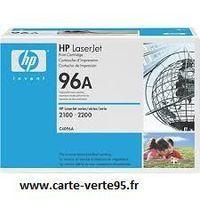 Cartouche toner HP C4096A : toner noir original 5000 pages 96A