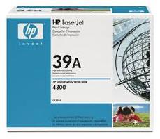 HP Q1339A : toner noir 18000 pages origine 39A