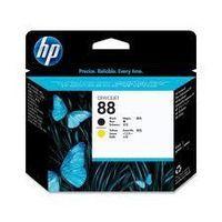 HP C9381A : Tête d'impression noir et jaune  N°88