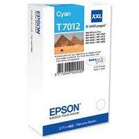 EPSON T7012: cartouche encre cyan 3400 pages