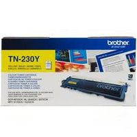 Cartouche BROTHER TN-230Y : toner jaune original 1400 pages
