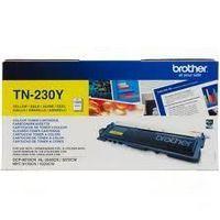 Cartouche BROTHER TN-230Y : toner jaune original 1400 pages