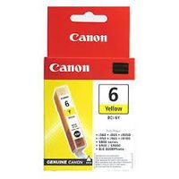 CANON BCI6Y 4708A002 : cartouche encre jaune