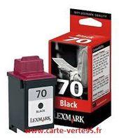 LEXMARK 12A1970 : cartouche encre noire LEX70
