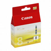 CANON CLI8Y : cartouche encre jaune 420 pages 0623B001
