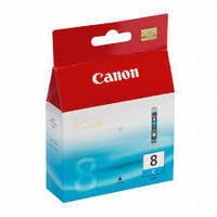 Canon CLI8C : cartouche encre cyan 420 pages 0621B001