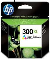 HP 300XL : cartouche originale encre couleur grande capacité 440 pages CC644EE