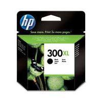 HP CC641EE: cartouche originale encre noire grande capacité 600 pages N°300XL