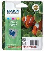EPSON T027 : cartouche encre couleur 220 pages