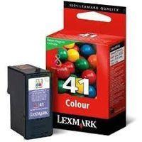 Lexmark N°41 : cartouche encre couleur 210 pages 18Y0141E