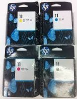 Pack économique 4 cartouches tête d'impression à la marque HP C4810A+C4811A+C4812A+C4813A