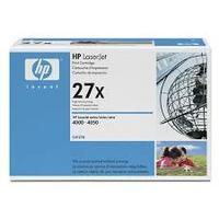 cartouche toner HP C4127X : toner noir grande capacité original 10000 pages 27X