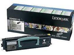LEXMARK X340H11G Toner noir 6000 pages