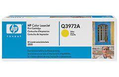 HP Q3972A : toner jaune 2000 pages Q3972A