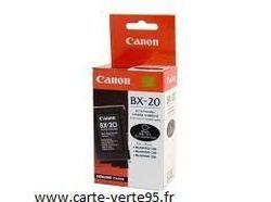 cartouche originale canon BX-20 : cartouche encre noire 900 pages BX20