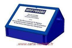 SECAP DP 40 : cartouche compatible encre bleue 20 ml Pitney Bowes 769-B