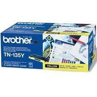 BROTHER TN-135Y : t oner jaune grande capacité 4000 pages