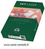 PAPIER A4 80 G/m2 : ramette de 500 feuiles papier SKY pour imprimantes laser