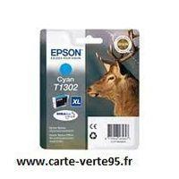EPSON T1302 : cartouche encre cyan 10,1 ml grande capacité