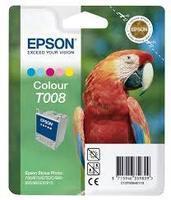 Cartouche EPSON T008 : cartouche originale encre 5 couleurs 46ml 420 pages