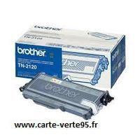 Cartouche BROTHER TN 2120 : toner noir grande capacité 2600 pages