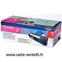 cartouche BROTHER TN-325M : toner original magenta grande capacité 3500 pages TN325M