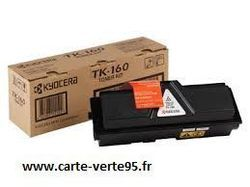 Cartouche KYOCERA TK-160 1T02LY0NL0 : toner noir original 2500 pages TK160