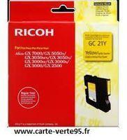 RICOH 405535 : cartouche encre jaune 1000 pages
