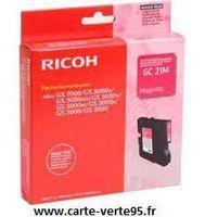 RICOH 405534: cartouche encre magenta 1000 pages Ricoh GC 21M