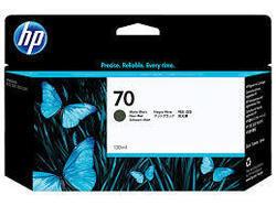 HP C9448A : cartouche encre noire mat 130ml HP N°70