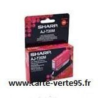 SHARP AJT20M : cartouche encre magenta 350 pages
