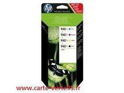 Cartouche HP C2N93AE : pack économique 4 cartouches originales HP N° 940XL