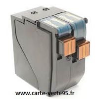 SATAS EVO420/480 : cartouche compatible encre bleue 84ml mention postale HU/SU
