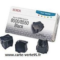Pack de 3 encres solide noir 3000 pages xerox 108R00668