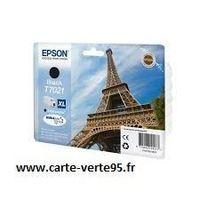 EPSON T7021XL : cartouche encre noire grande capacité 2400 pages