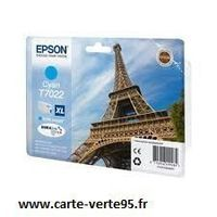 EPSON T7022XL: cartouche encre cyan 2000 pages