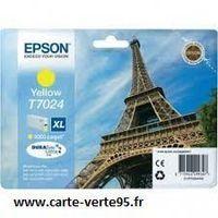 EPSON T7024XL: Cartouche encre jaune 2000 pages