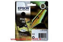 EPSON C13T16214010 : cartouche encre noire 5,4ml