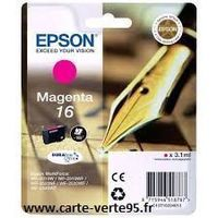 EPSON C13T16234010 : cartouche encre magenta 3,1ml