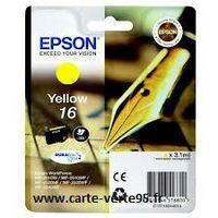 EPSON C13T16244010 : cartouche encre jaune 3,1ml