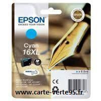 EPSON T1632 : cartouche cyan grande capacité 6,5ml